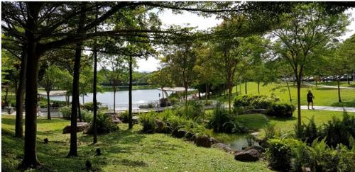 Công viên Luna Park tạokhông gian sống resort ở Green Star Sky Garden.