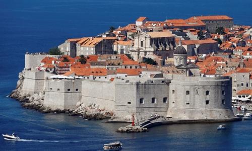 Thành phố cổDubrovnik của Croatia rất thu hút khách du lịch. Ảnh: Reuters