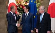 Nhật - EU ký thỏa thuận thương mại đối trọng với Mỹ