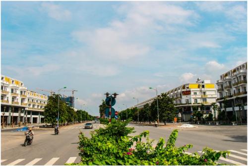 Nhà mặt phố Geleximco Lê Trọng Tấn có nhiều ưu thế về vị trí, hạ tầng...