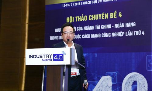 MB giới thiệu App ngân hàng MB Bank tại sự kiện công nghiệp 4.0