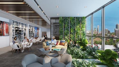 Dự án được trang bị hệ thống tiện ích nghỉ dưỡng đẳng cấp ngay bên trong các toà nhà