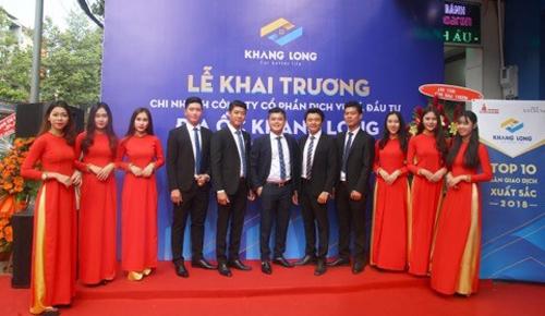 Đội ngũ lãnh đạo trẻ và tâm huyết xây dựng nên Địa ốc Khang Long.