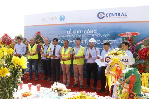 Nhà thầu Việt Nam - Central - được lựa chọn làm nhà thầu chính cho dự án Alma Resort Cam Ranh.
