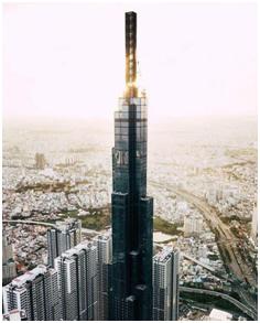 California Centuryon vinh dự có mặt tại tòa nhà cao nhất Việt Nam - Landmark 81, Vinhomes Central Park.
