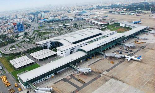 Một sân bay do Tổng công ty Cảng hàng không Việt Nam chịu trách nhiệmquản lý. Ảnh ACV
