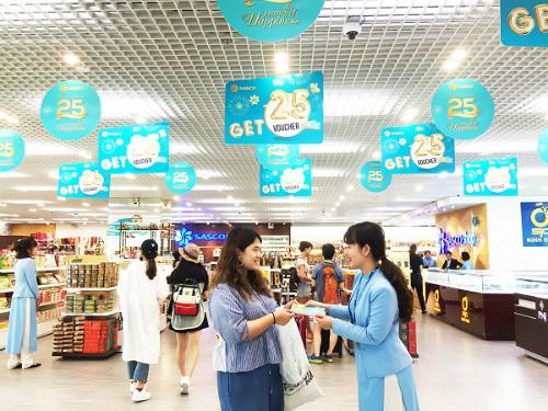 Khách hàng nhận voucher ưu đãi 25% tại hệ thống cửa hàng bán lẻ SASCO Shop