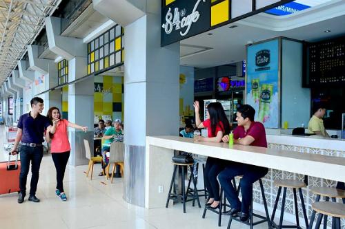 Hệ thống cà phê +84 tại sân bay Tân Sơn Nhất