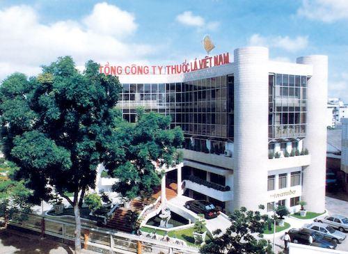 Trụ sở Tổng công ty Thuốc lá Việt Nam. Ảnh: VNTB