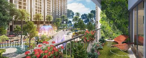 Điểm nhấn thiết kế của tổ hợp dự án Imperia Sky Garden - 2