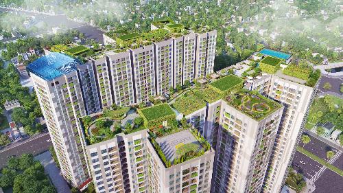 Điểm nhấn thiết kế của tổ hợp dự án Imperia Sky Garden - 1