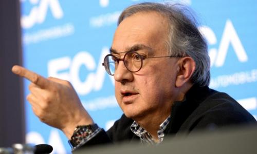 Sergio Marchionne trong một buổi họp báo tại Italy hồi tháng 6. Ảnh: Reuters