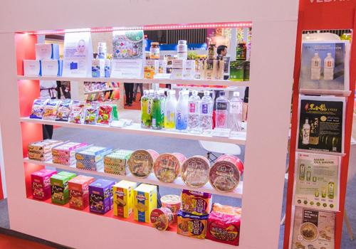 Các dòng sản phẩm công nghệ sinh học và hàng tiêu dùng cũng được Vedan giới thiệu tại triển lãm.