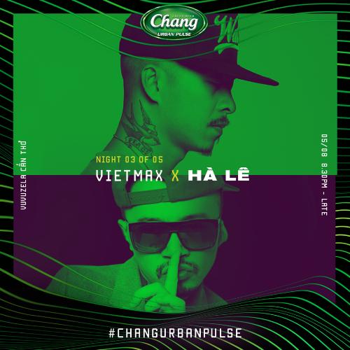 Việt Max là gương mặt chính, đại diện củasự kiện Chang Urban Pulse 2.0.