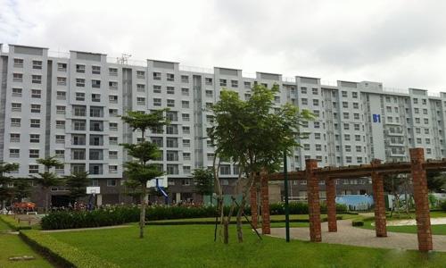 Một dự án nhà vừa túi tiền của Công ty cổ phần đầu tư Nam Long ở phía Tây Sài Gòn. Ảnh: N.L