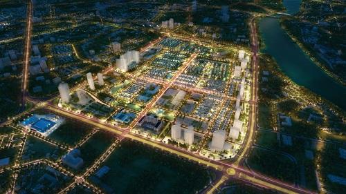 Phối cảnh tổng thể khu đô thị phức hợp Vinhomes Star City tại Thanh Hóa.