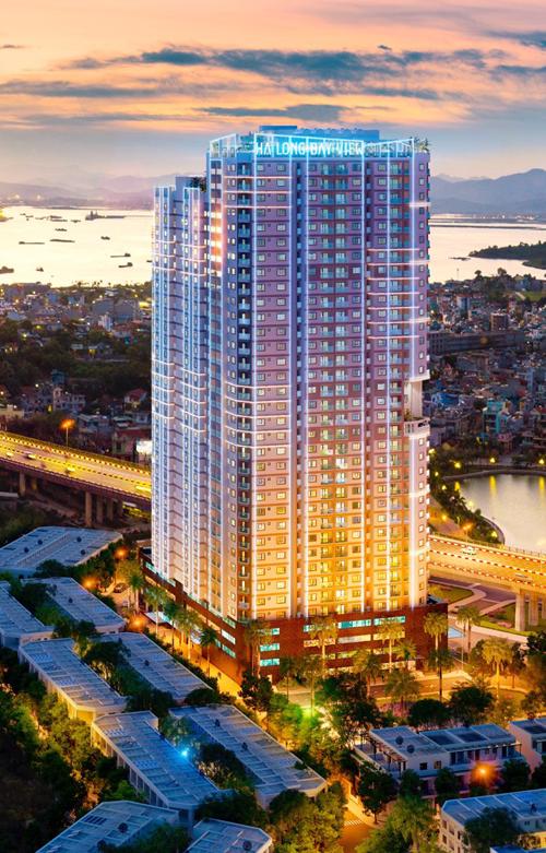 Với vị trí trung tâm, tầm nhìn khoáng đạt, Hạ Long Bay View thu hút nhiều nhà đầu tư.