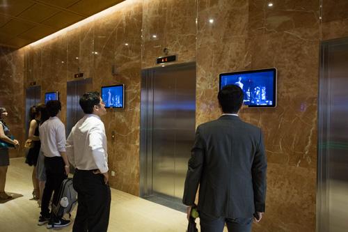 Kênh truyền thông thang máy là lựa chọn của nhiều doanh nghiệp.