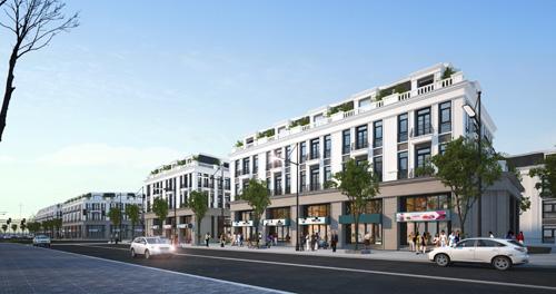 Đầu tư shophouse thu hút nhiều nhà đầu tư.