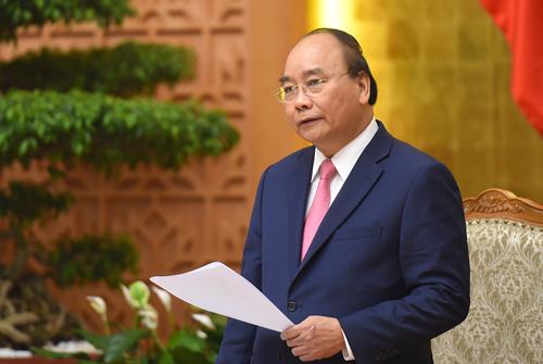 Thủ tướng Nguyễn Xuân Phúc phát biểu tại phiên họp Chính phủ thường kỳ ngày 31/7