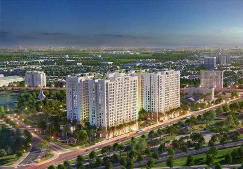 Hanoi HomeLand có vị trí trung tâm quận Long Biên