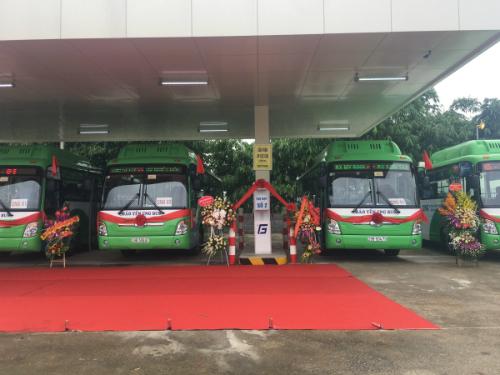 50 chiếc xe được trang bị hiện đại, thuận tiện cho hành khách.