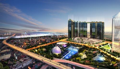 Sunshine City tọa lạc tại khu vực Tây Hồ Tây - vùng đất đáng sống bậc nhất Hà Nội