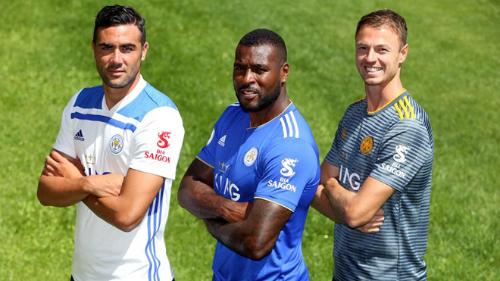 Bia Sài Gòn được quảng bá tại giải ngoại hạng Anh trong mùa giải năm nay. Ảnh:Leicester City.