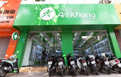 Chuỗi nhà thuốc An Khang đang có bảy cửa hàng tại TP HCM. Ảnh: MWG.