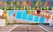 Phú Mỹ Hưng lần đầu xây hồ bơi xuyên sáng tại khu dân cư