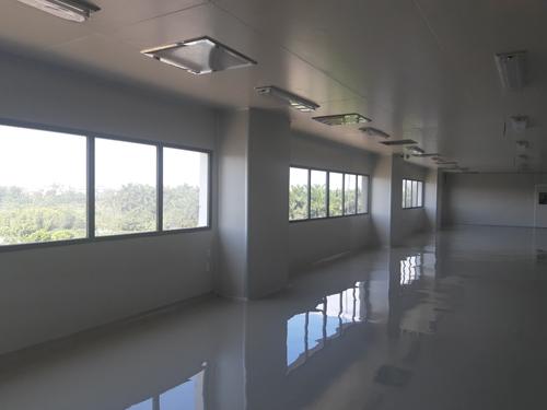 Hệ thống phòng sạch tại bệnh viện mà Quí Long đã lắp đặt đảm bảo tiêu chuẩn WHO-GMO.