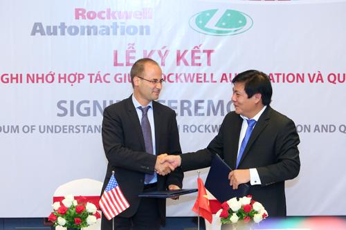 Với việc ký kết hợp tác với Rockwell Automation, Quí Long sẽ ứng dụng công nghệ tự động hoá hàng đầu thế giới vào hệ thống làm lạnh HVAC mà đơn vị này thiết kế, chế tạo.