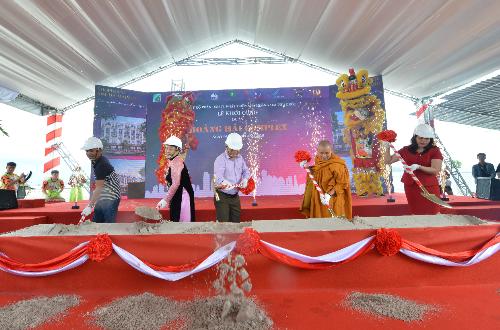 Lễ khởi công dự án Khu phức hợp Hoàng Hải - Phú Quốc.