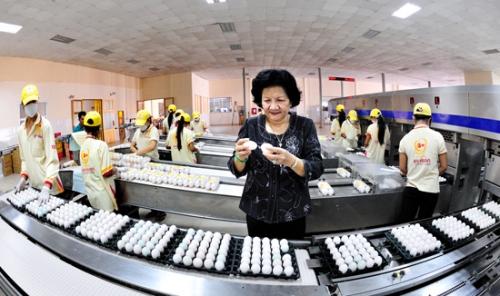 Bà Phạm Thị Huân - Giám đốc Công ty cổ phần Ba Huân.