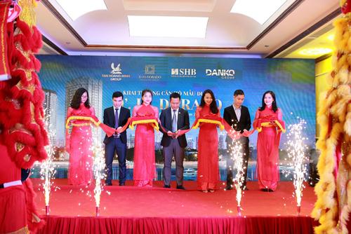 Lễ khai trương căn hộ mẫu dự án D. El Doradodiễn ra tại sàn giao dịch bất động sản Tân Hoàng Minh, 59 Xuân Diệu, Tây Hồ, Hà Nội.
