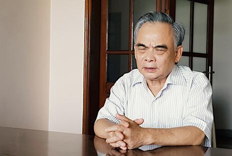 Chủ tịch Vinaxuki, giờ đã ở độ tuổi 76 nhưng vẫn mơ về chiếc ôtô nội địa hóa. Ảnh: TB