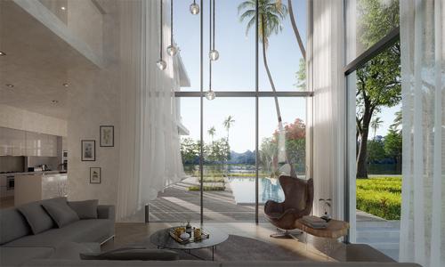 Thiết kế đẳng cấp của các căn biệt thự Ecopark Grand - The Island.