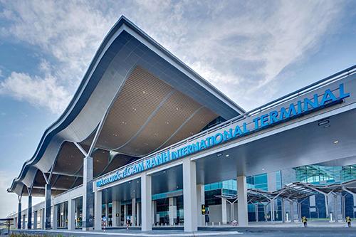 Nhà ga quốc tế sân bay Cam Ranh đạt tiêu chuẩn 4 sao quốc tế vừa khánh thành vào tháng 6/2018. Ảnh: Văn Long.