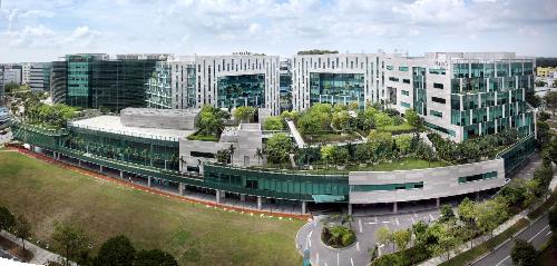 Dự án Changi Business Park tại Singapore.