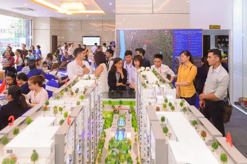 Các sự kiện mở bán căn hộ thời gian gần đây vẫn thu hút rất đông khách hàng quan tâm tham gia.