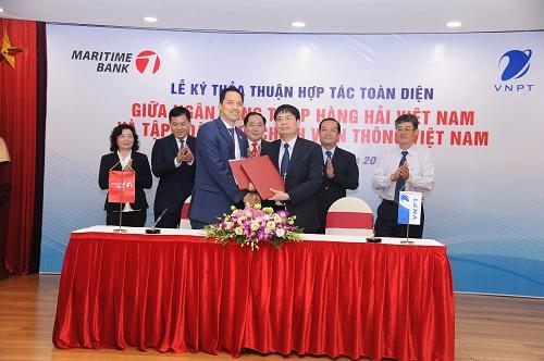 VNPT hợp tác chiến lược Maritime Bank - 1
