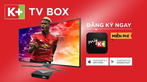 Kết nối K+ TV Box để xem ngay các nội dung độc quyền trên K+ không cần lắp đặt