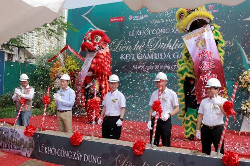 Chính thức khởi công dự án liền kề Dahlia Homes KĐT Gamuda Gardens