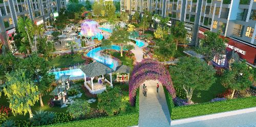 Tiêu đề Dự án Imperia Sky Garden: Đã cất nóc tòa đầu tiên (xin edit) - 1