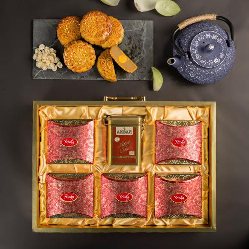 Richy đưa ra thị trường 4 loại hộp quà sang trọng: Vượng Quý, Thu Nguyệt, Thành An và Nhật Thịnh.