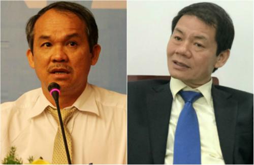 Chủ tịch Hoàng Anh Gia Lai, Đoàn Nguyên Đức và Chủ tịch Thaco, Trần Bá Dương.