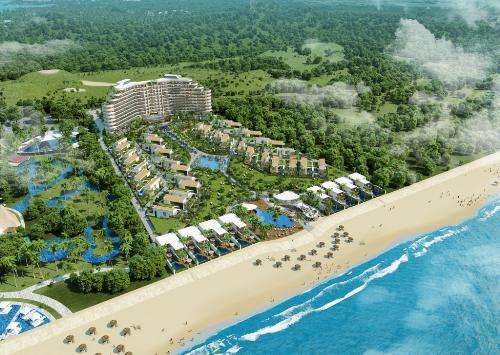 Phối cảnh tổng quan dự án Ramada Kahuna Hồ Tràm Strip.
