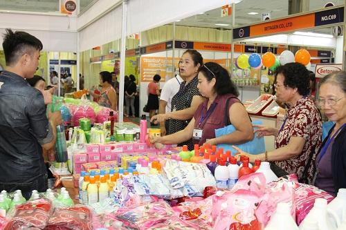 Triển lãm có sự tham gia của 136 công ty và hiệp hội doanh nghiệp đến từ Thái Lan.