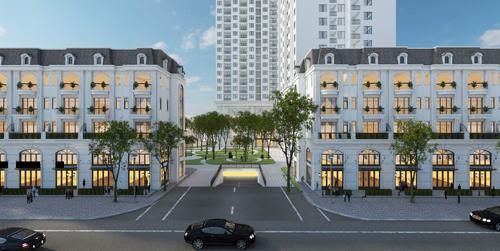 Shophouse TSG Lotus Sai Dong là một trong những dự án nổi bật tại Long Biên.