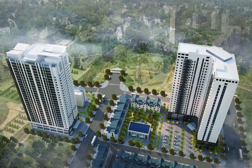 Toàn cảnh dự án Thăng Long City.